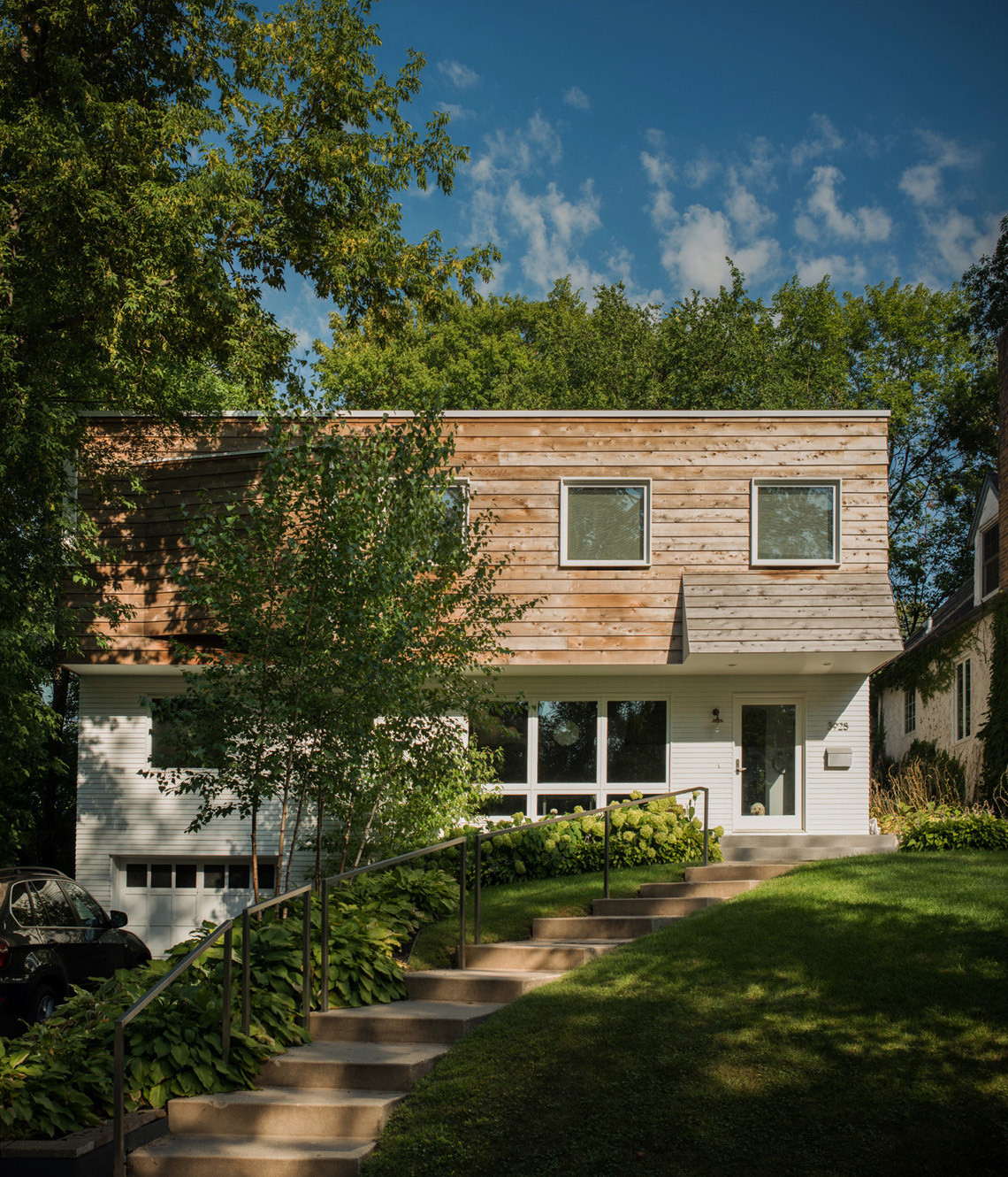 Modern home renovation in Linden Hills, Minnesota by Christian Dean Architecture