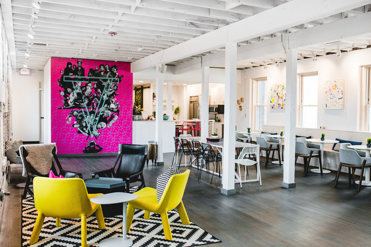 historic building modern remodel co-working space in minneapolis by christian dean architecture