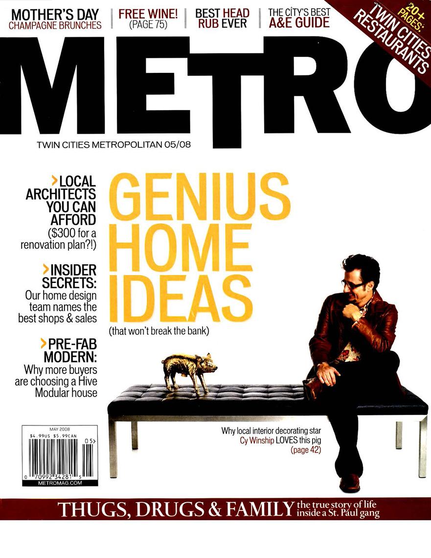 Metro Mag, May 2008