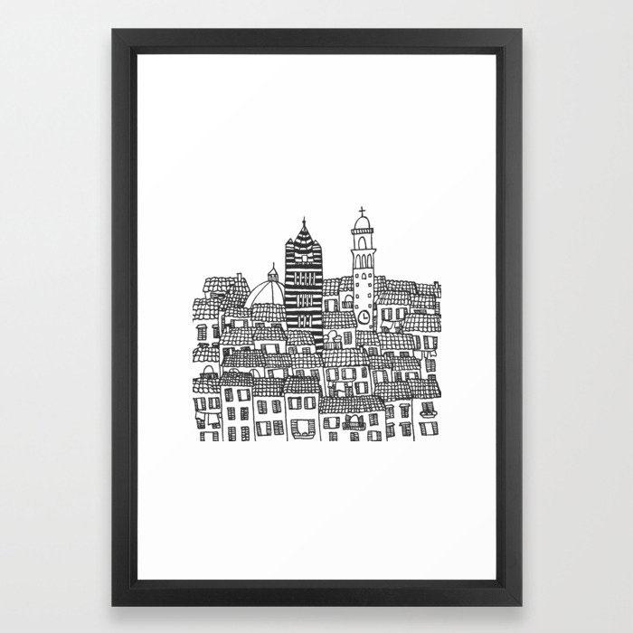 Siena, Italy Print