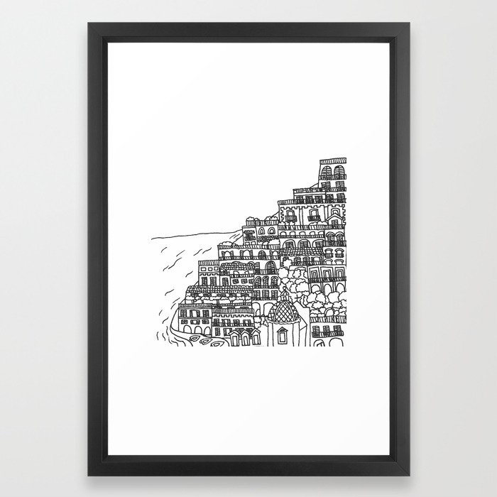 Positano, Italy Print