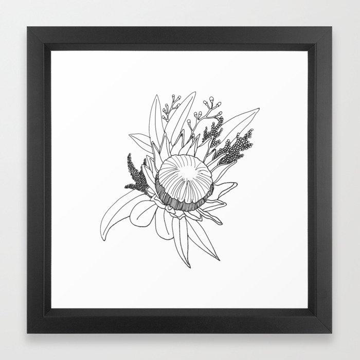 Native Australian Flower Print