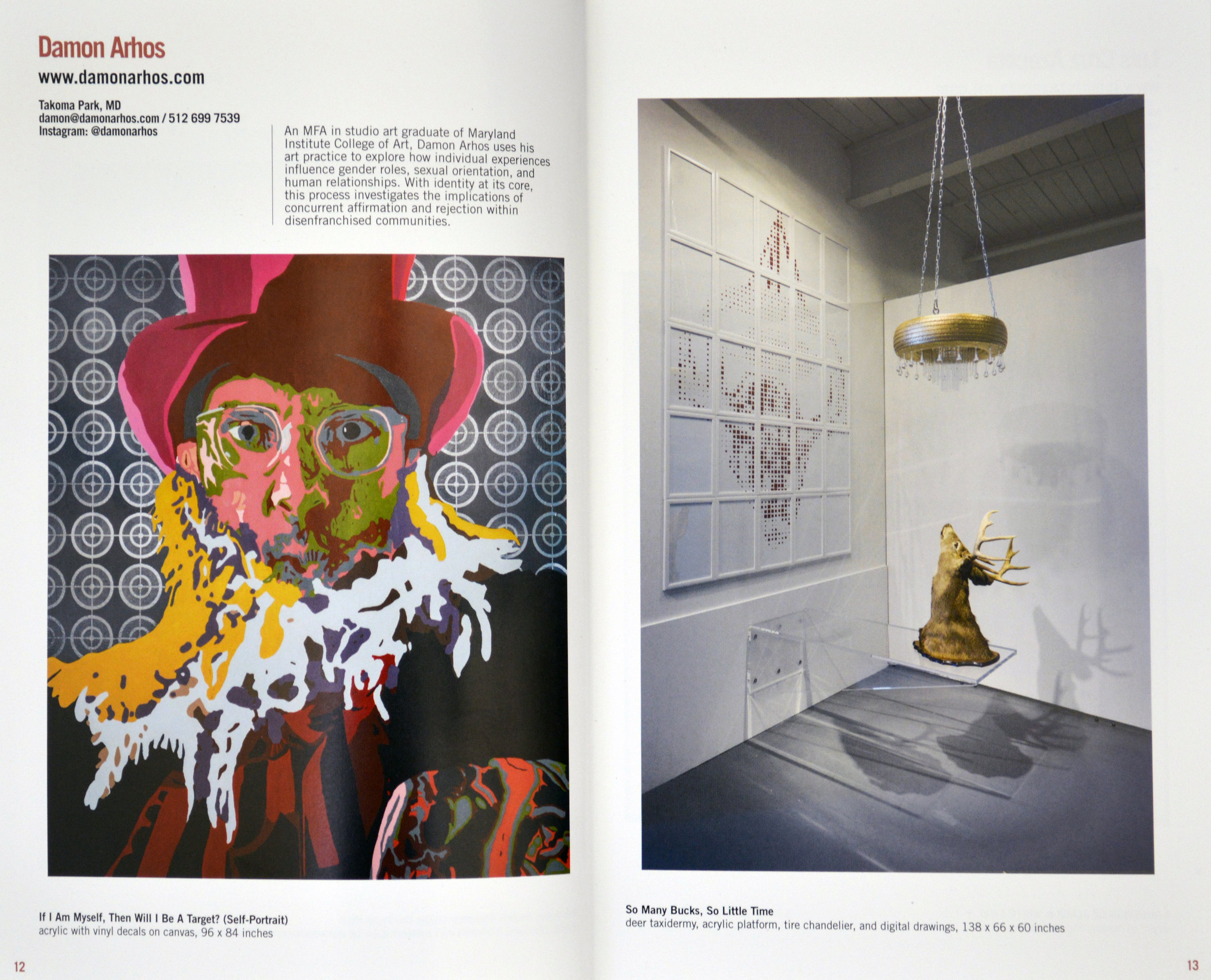 Studio Visit  Magazine, Volume 42, Pages 12 & 13
