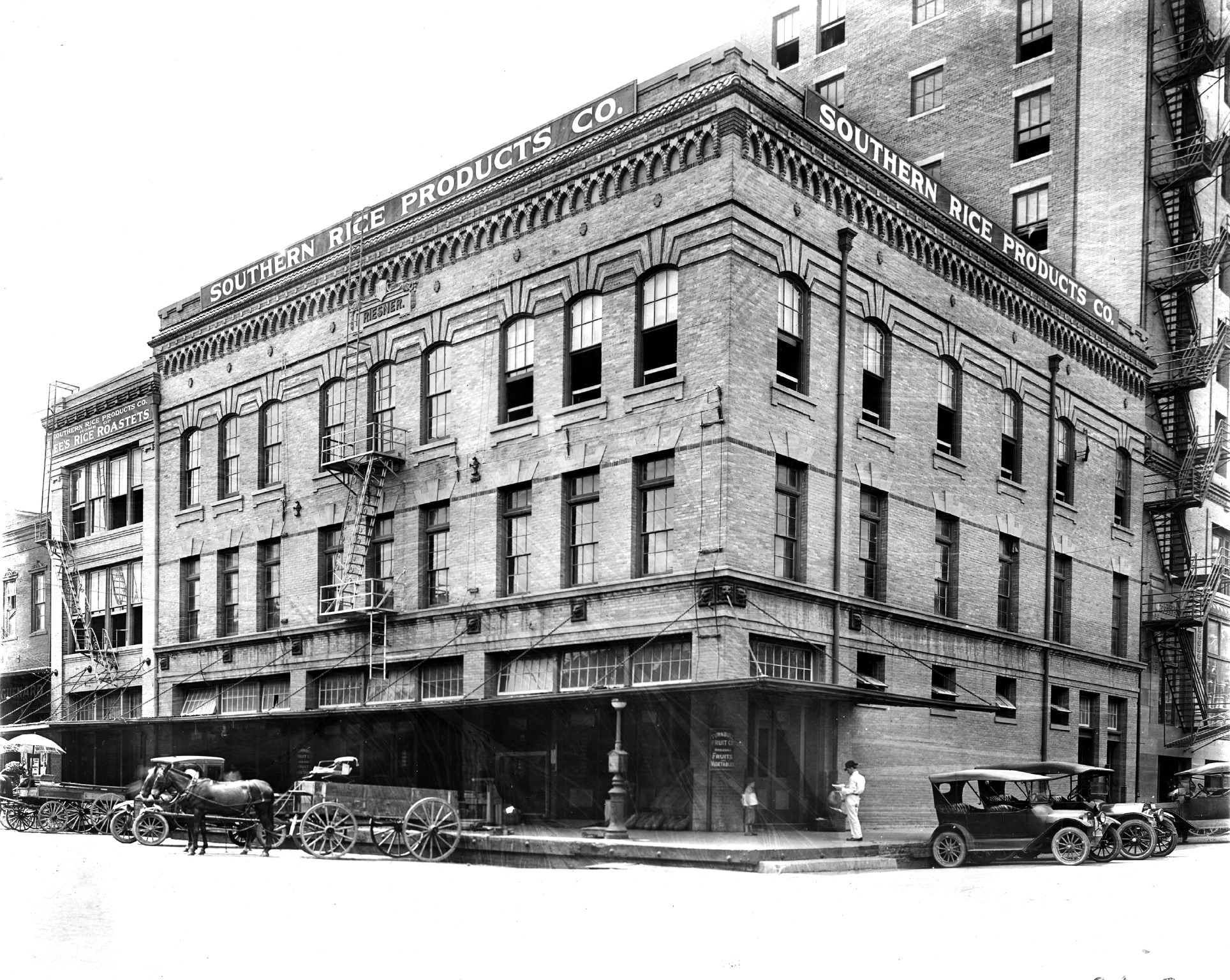 The new center is inside the historic 1906 B.A. Riesner Building located across the street from Allen's Landing, the site of Houston's founding.