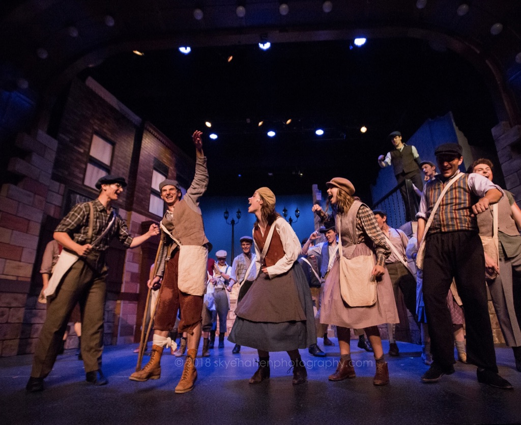 Newsies at Grandstreet Theatre