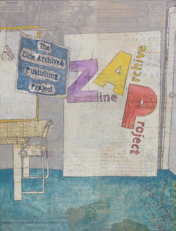 Zine Archive Publishing Project - Basement of Richard Hugo House - 11th Ave & E Olive St