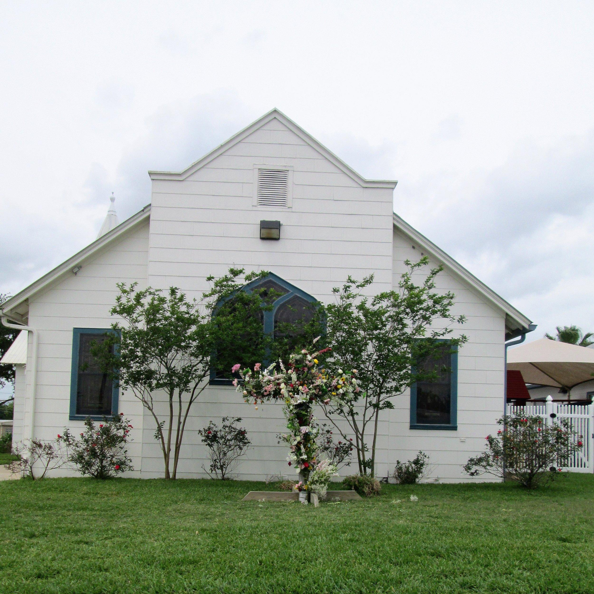 The Original Church Building April 16, 2017