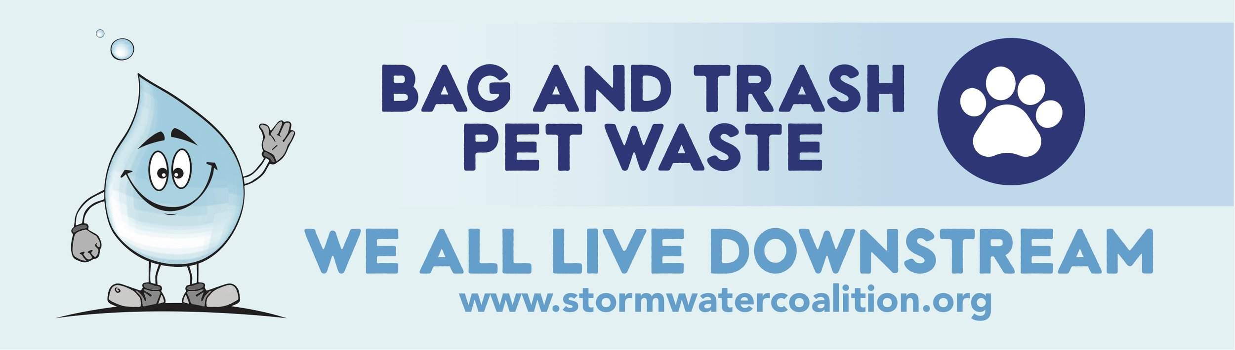 SLCo Stormwater Coalition 2019 Digital billboard