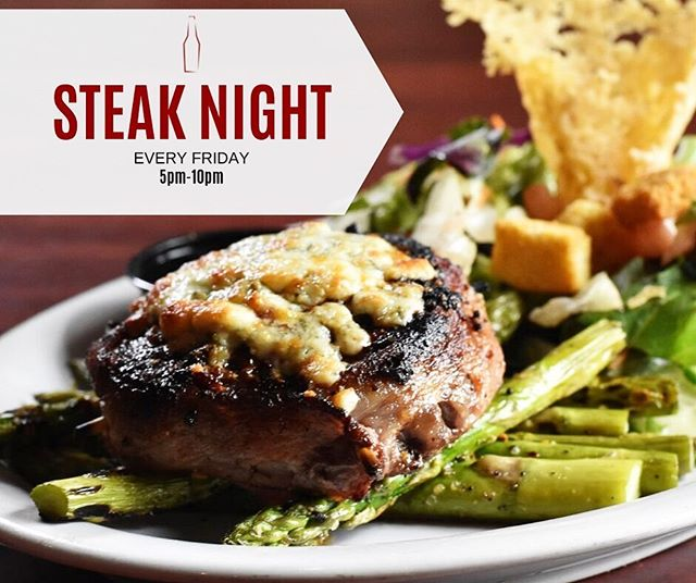 We are offering premium cuts of steak for the lowest possible price every Friday! Come in and enjoy a Baseball or Hanger steak with sides for only $14.75 🤯 #steaknight #phbozeman