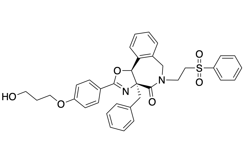 KI-MS2-001. Parent Molecule for the development of KI-MS2-008