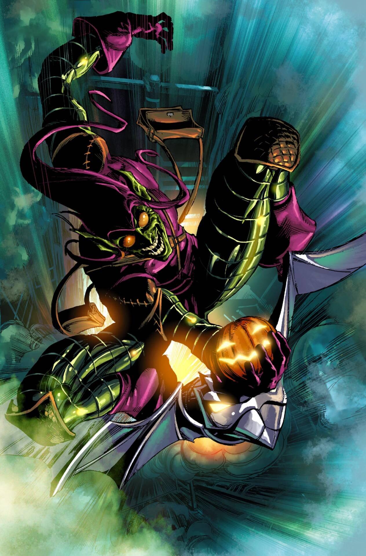 The Green Goblin — The Marvelous House of Ideas
