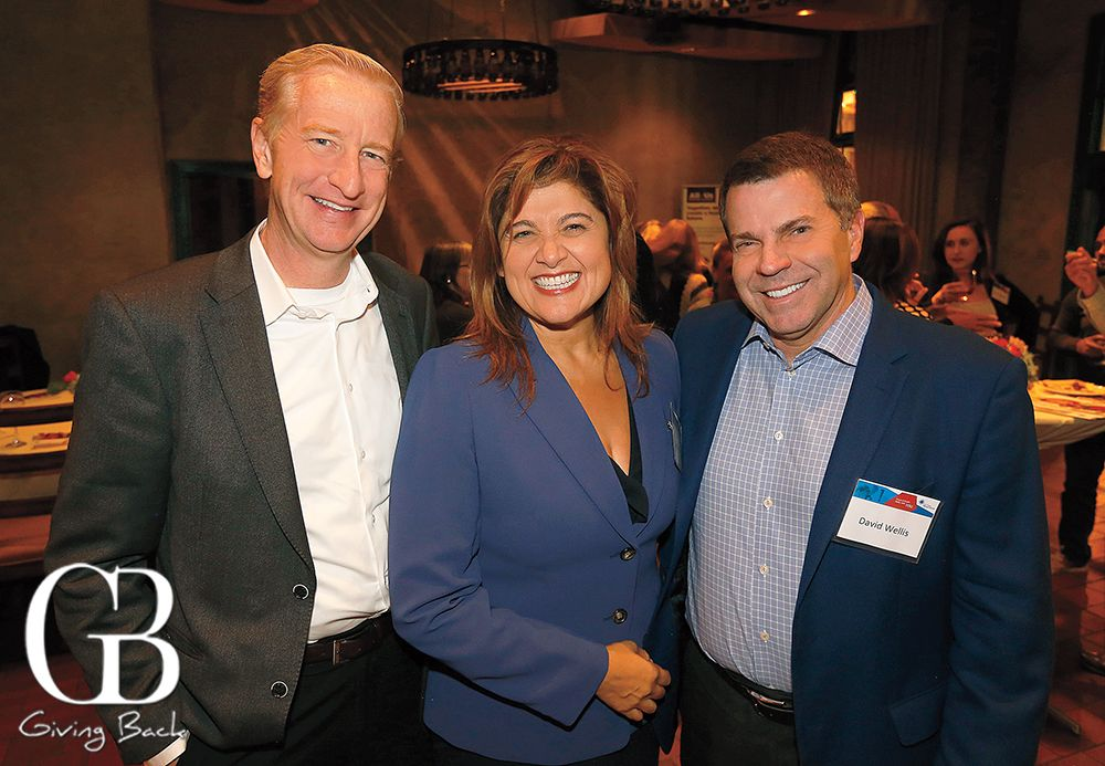 Guests  Xavier Douwes  and  Cindy Murphy  and panelist,  David Wellis, Ph.D ., CEO, San Diego Blood Bank