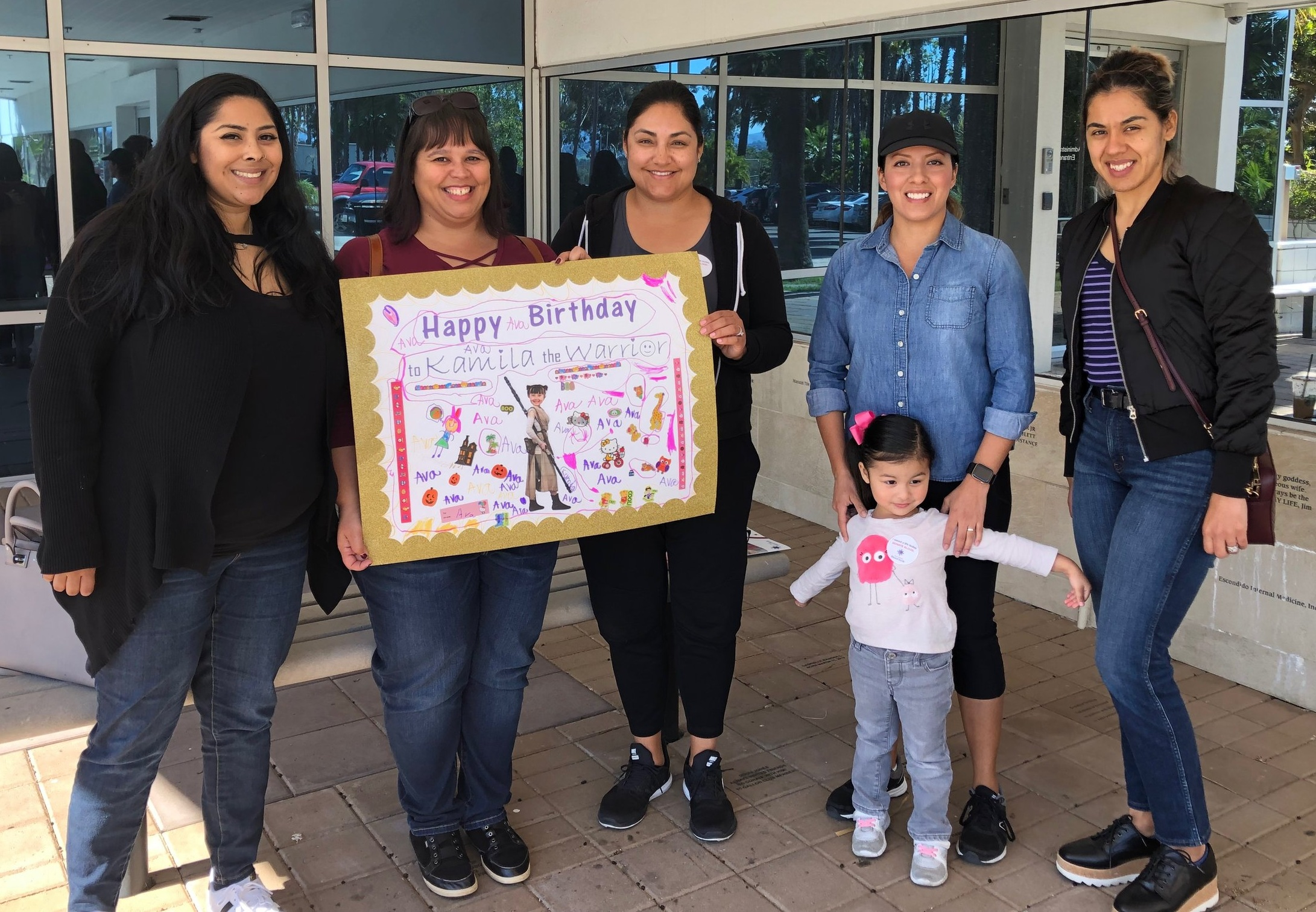 Family and friends of Team Patient Survivor, Kamila, showed up on her birthday in February to donate blood and save lives. They helped to save up to 12 lives that day.