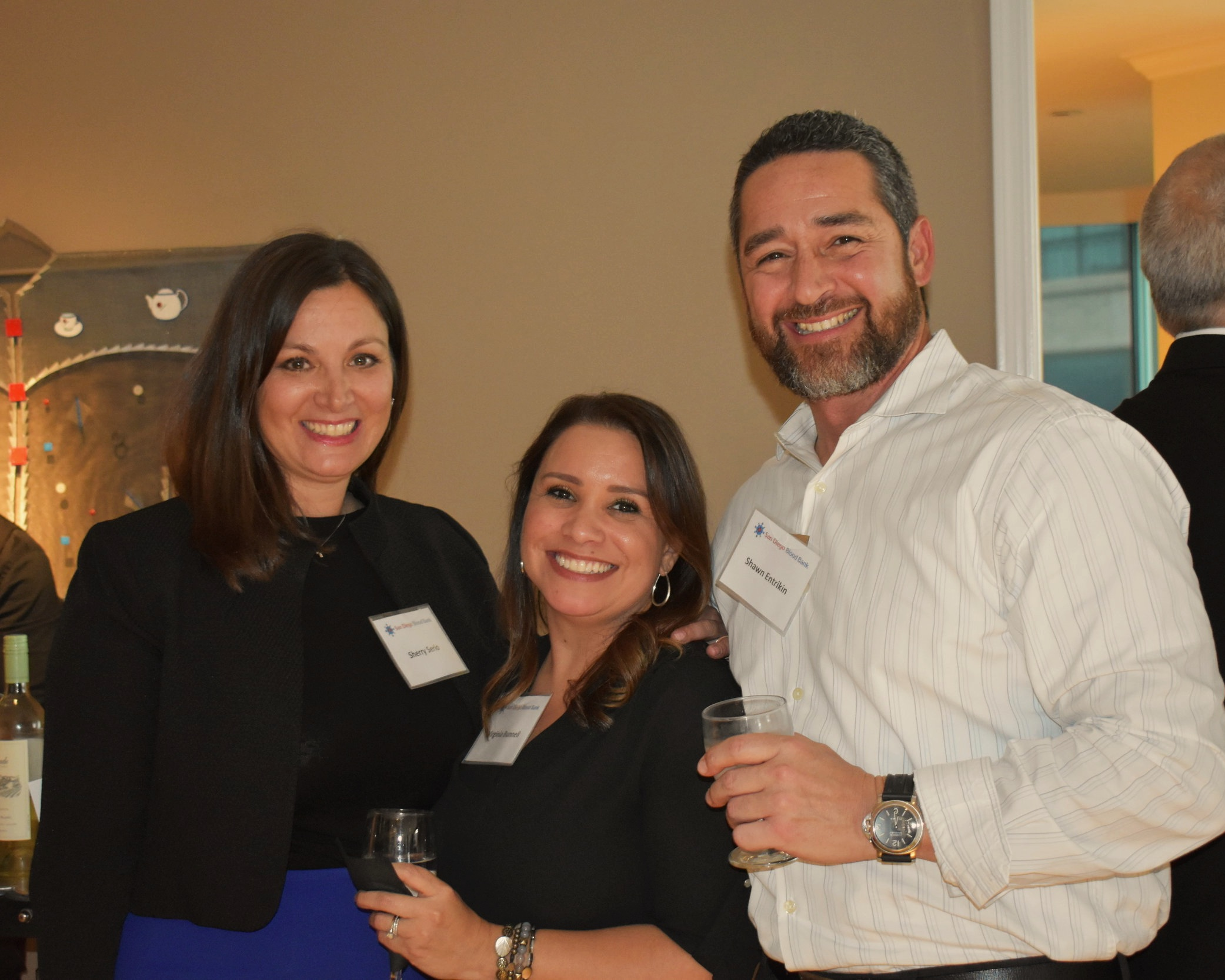 Sherry Serio, Virginia, and Shawn Entrikin