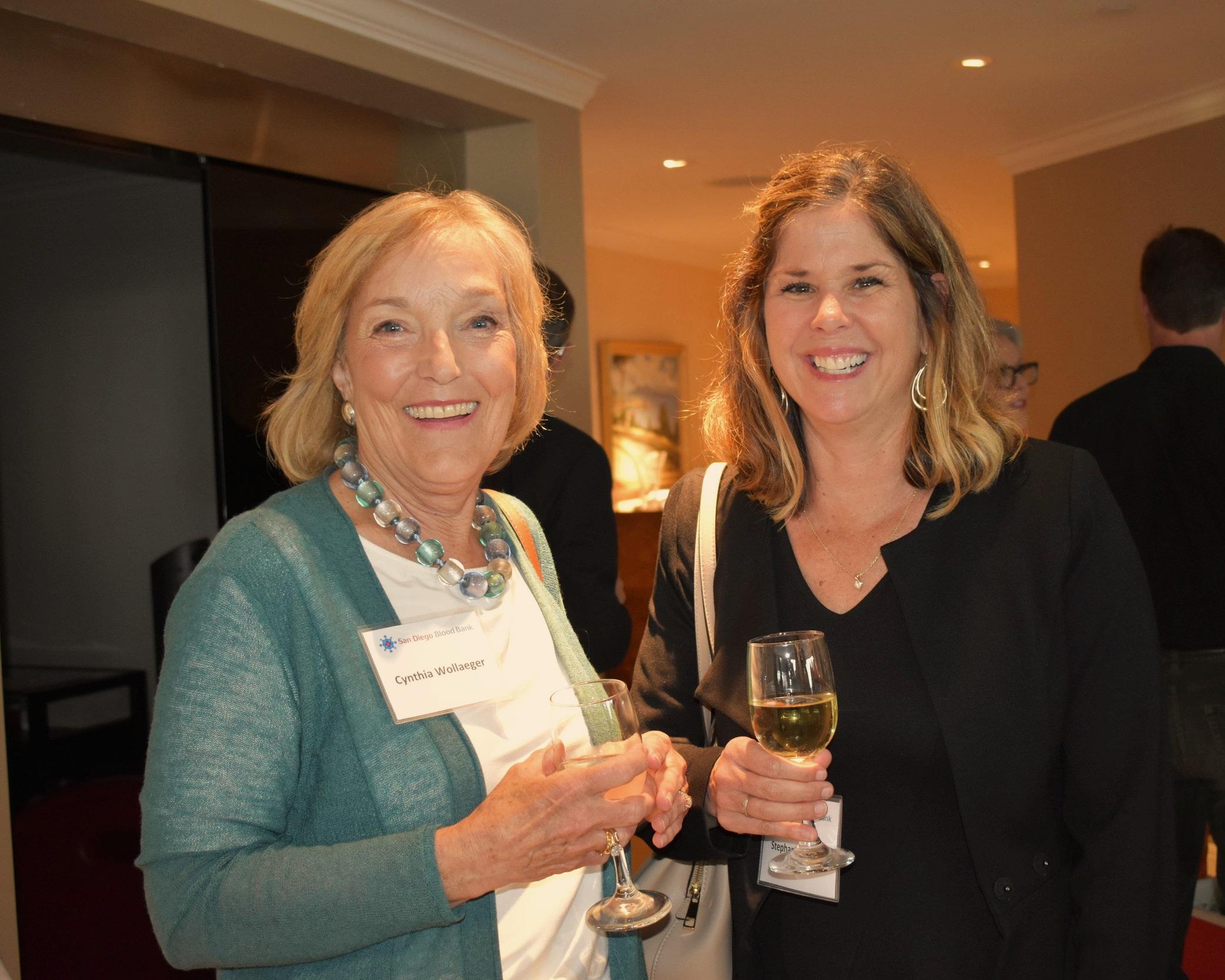Cynthia Wollaeger and Stephanie Teeple