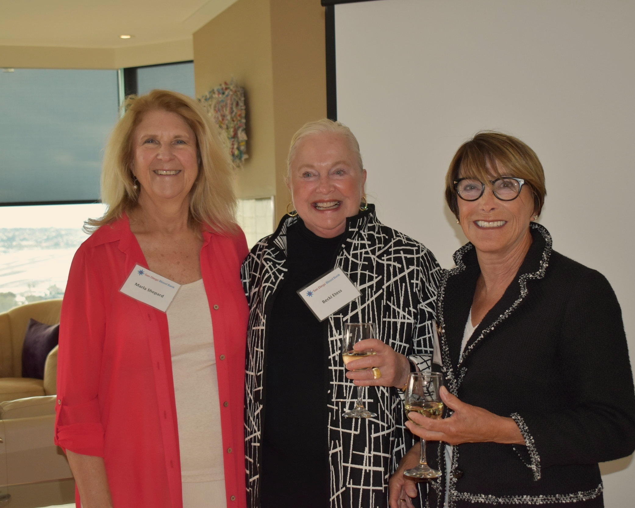 Marla Shepard, Becki Etess, and Karen Ludwig