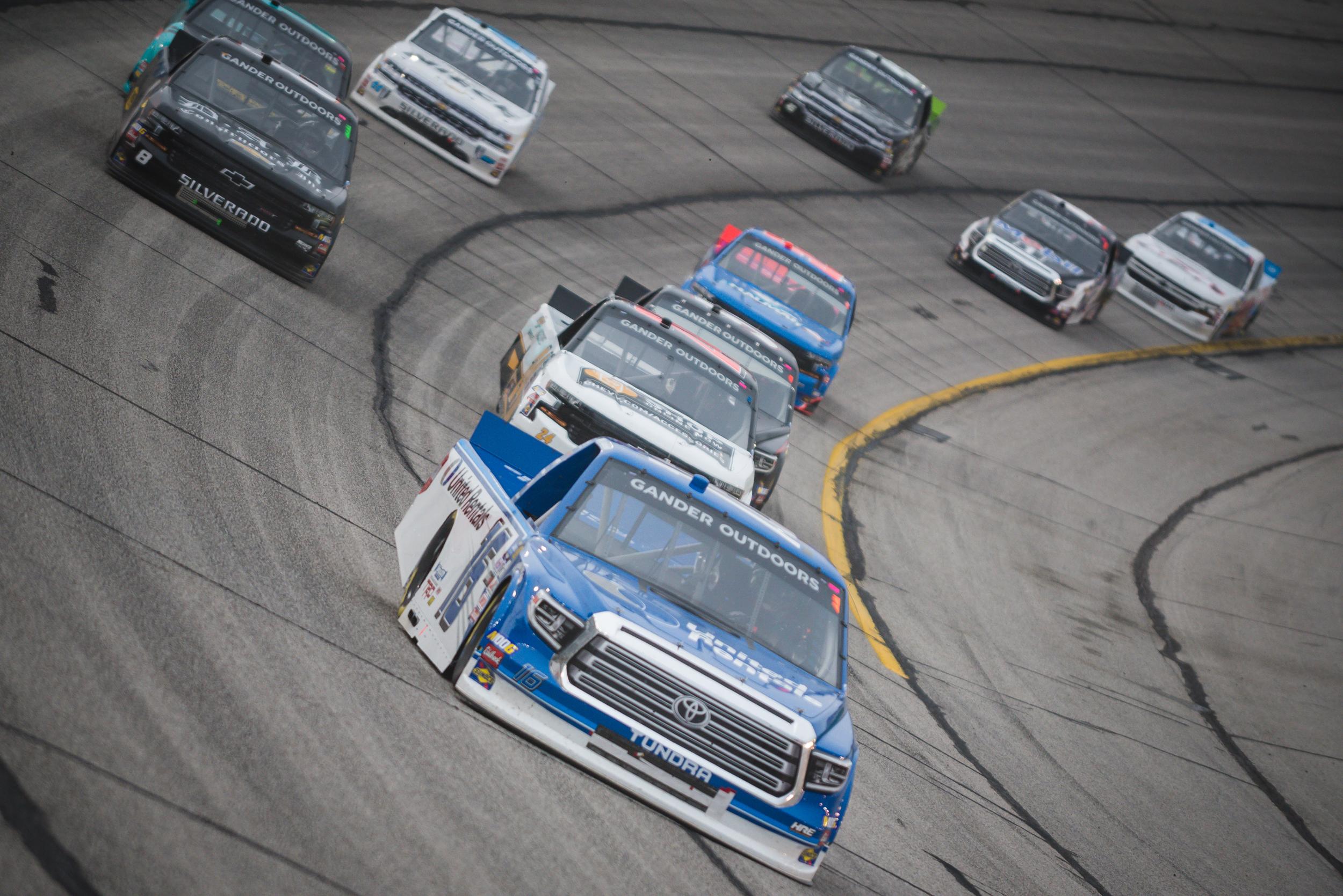 Feb. 23: Atlanta Motor Speedway - Start: 1stFinish: 7th