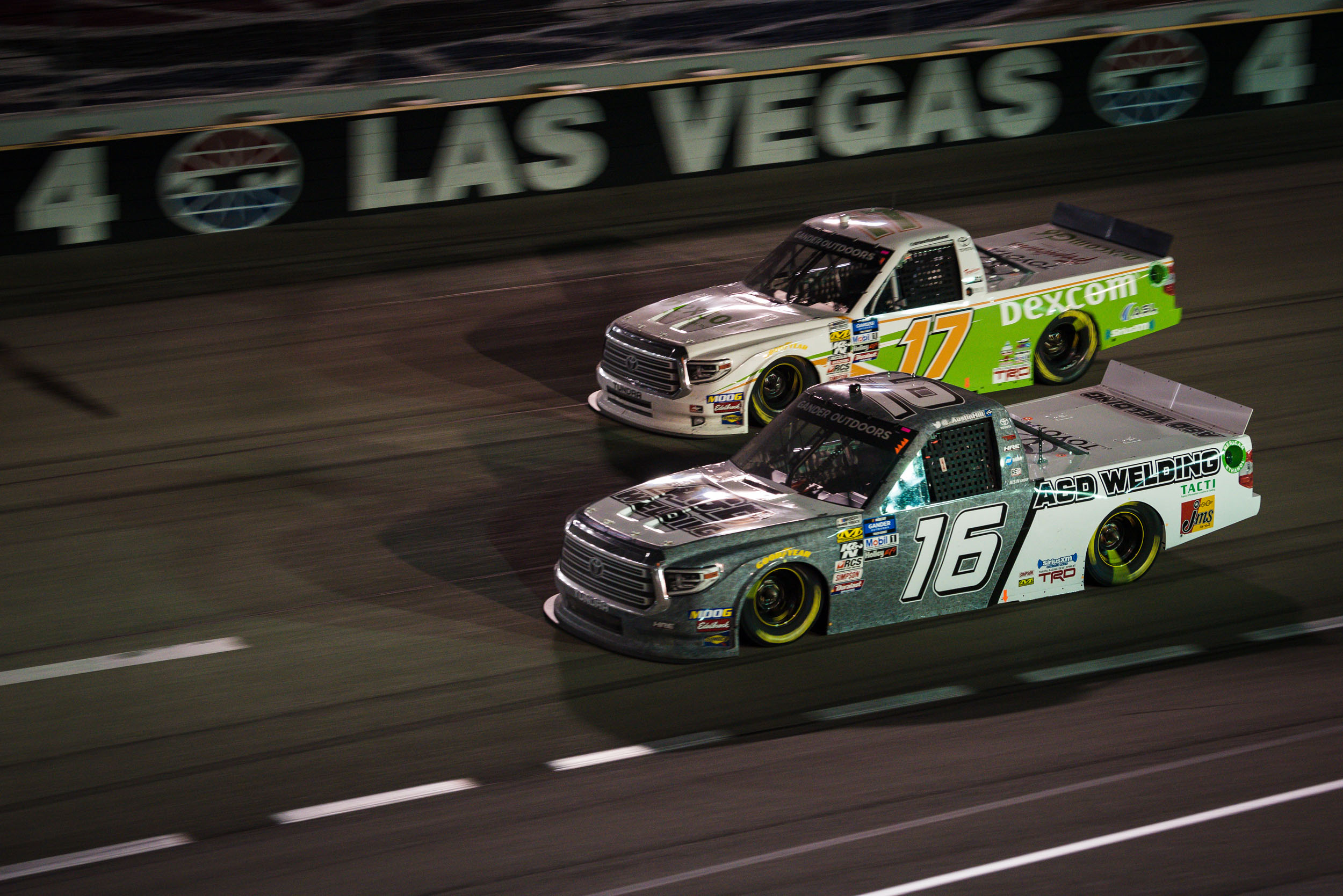 Mar. 1: Las Vegas Motor Speedway - Start: 6thFinish: 30th