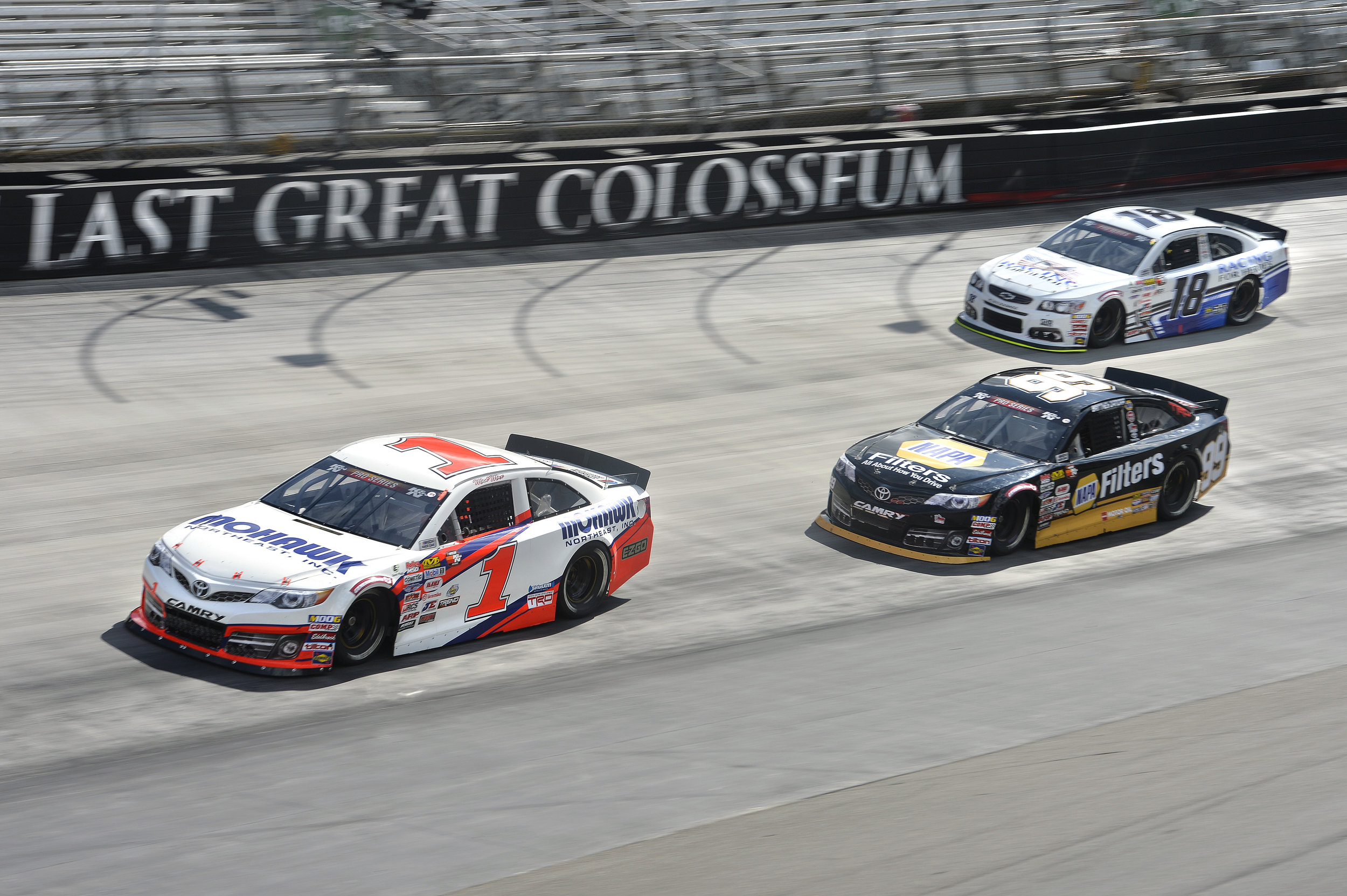 April 6: Bristol Motor Speedway - Start: 14thFinish: 13th