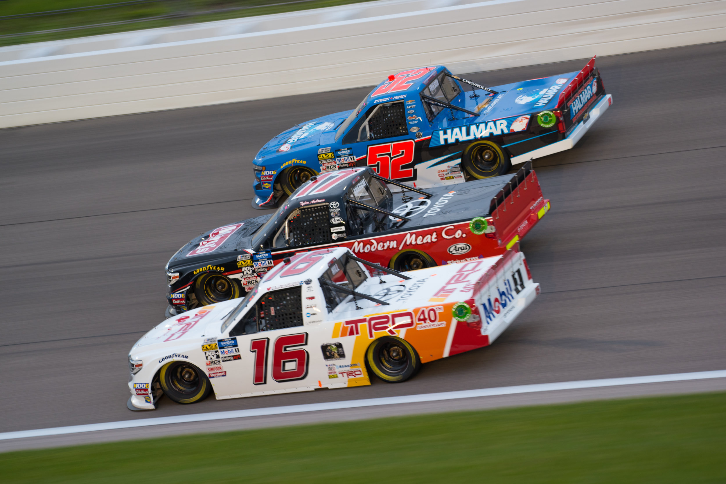 May 10: Kansas Speedway - Start: 7thFinish: 4th