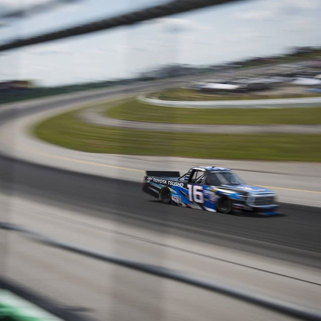 Maybe there's some better luck in Pocono... #NASCAR #Motorsports #Racing #Toyota #Tundra #Trucks #Racetruck #Racecar #TeamToyota #NASCARTrucks #GanderTrucks #ToyotaTsusho