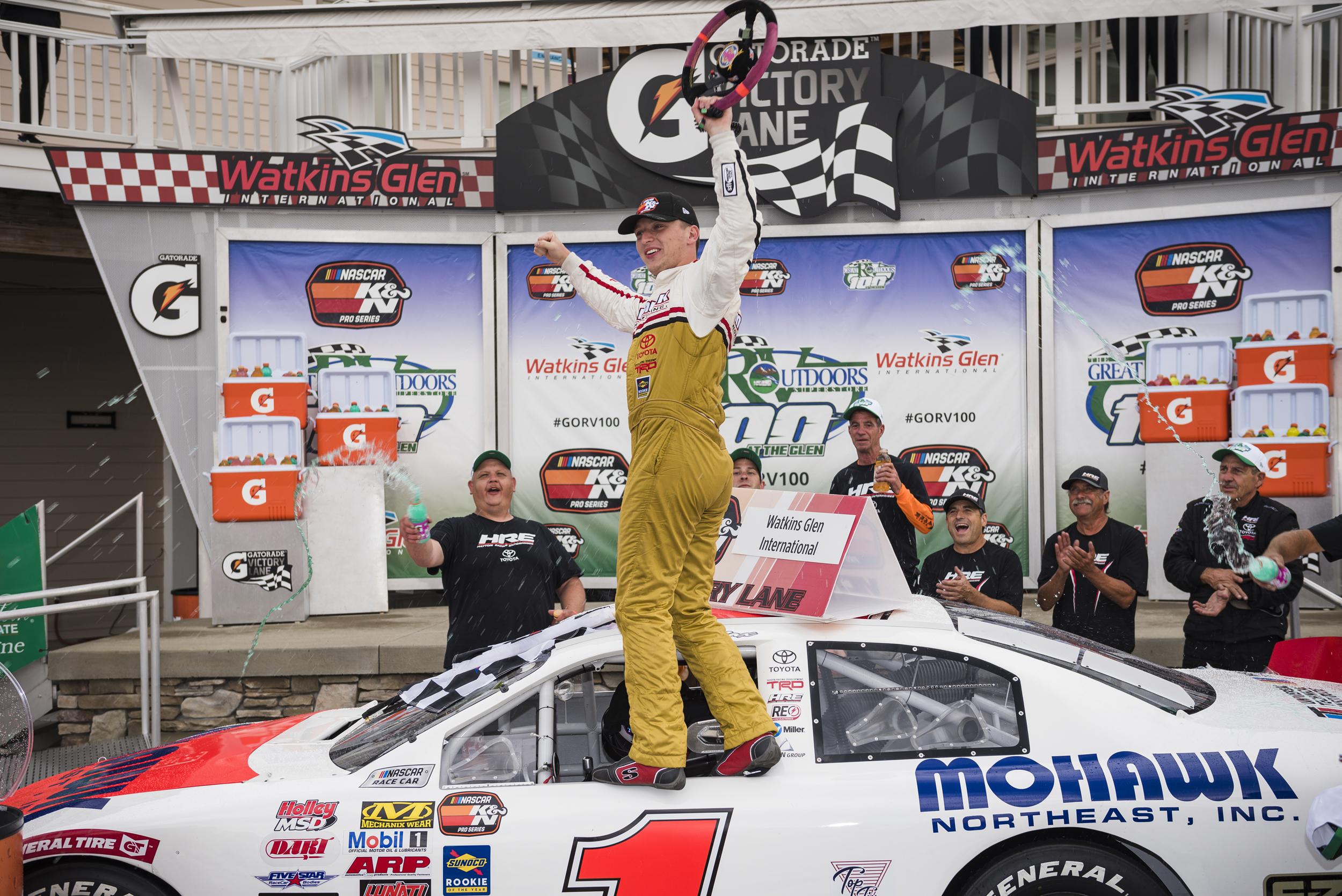Aug. 2: Watkins Glen Int'l - Start: 1stFinish: WIN