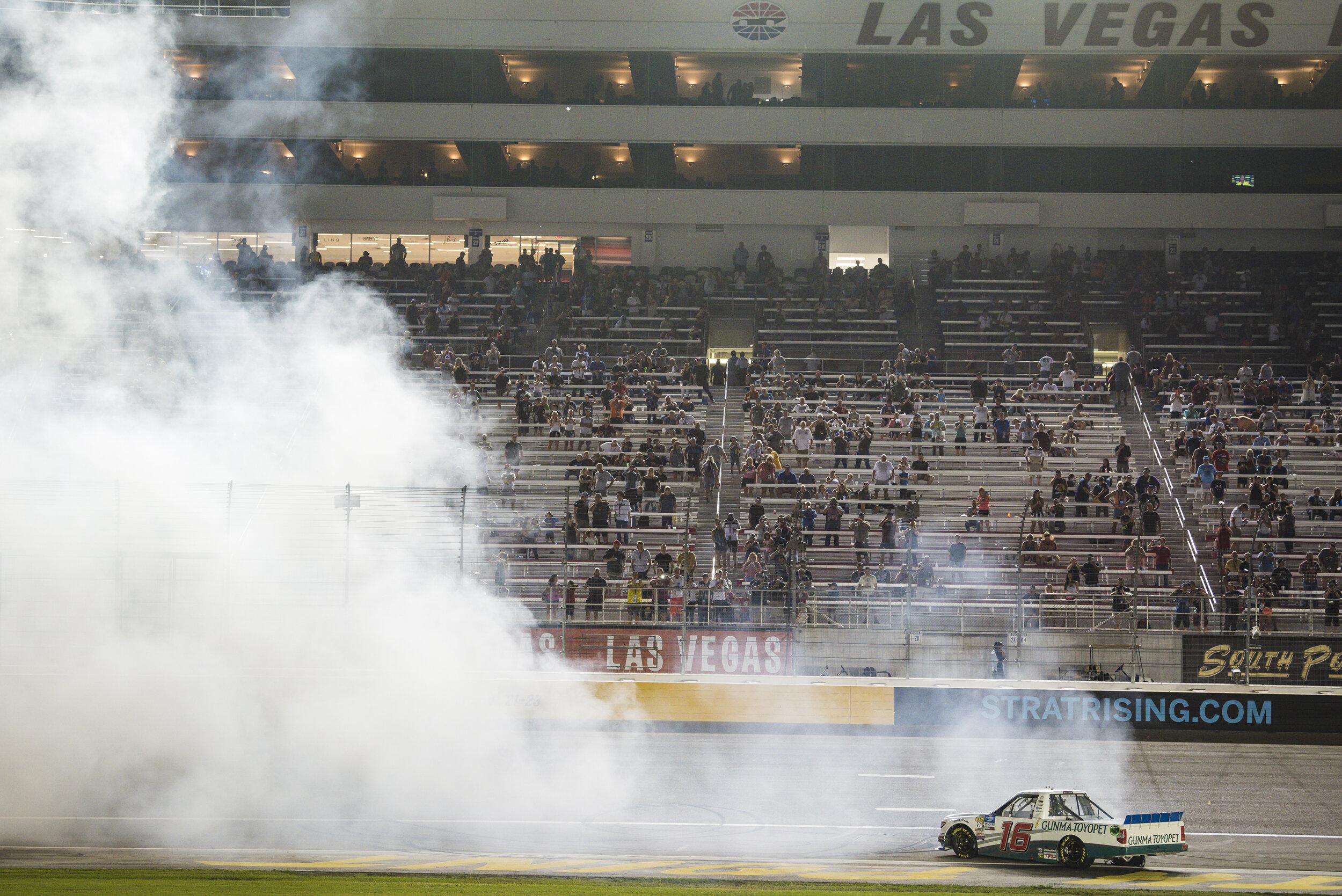 Sept. 13: Las Vegas Motor Speedway - Start: 7thFinish: 1st