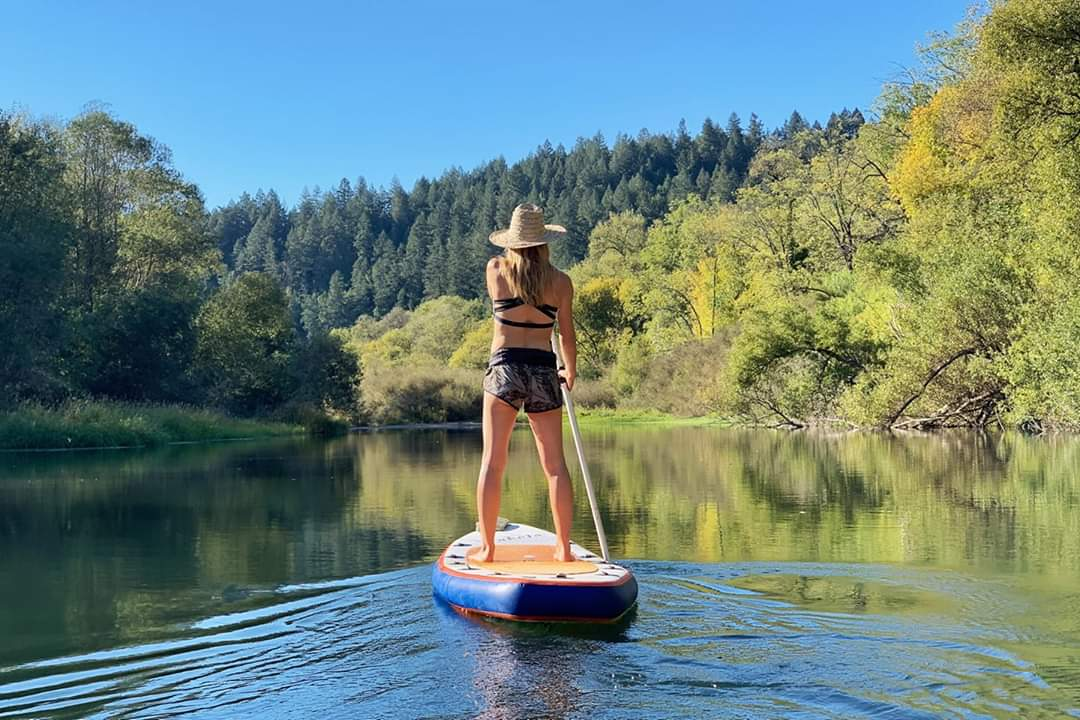 SUPPING & FLOATING - RUSSIAN RIVER