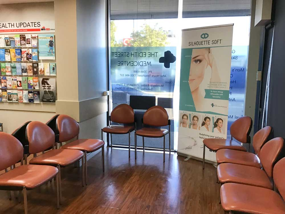 Waiting room Edith-Street-Medicentre-Wynnum, Australia.jpg