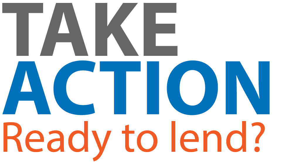 - Interested in Lending? Please start the Lending process by clicking on the button below.