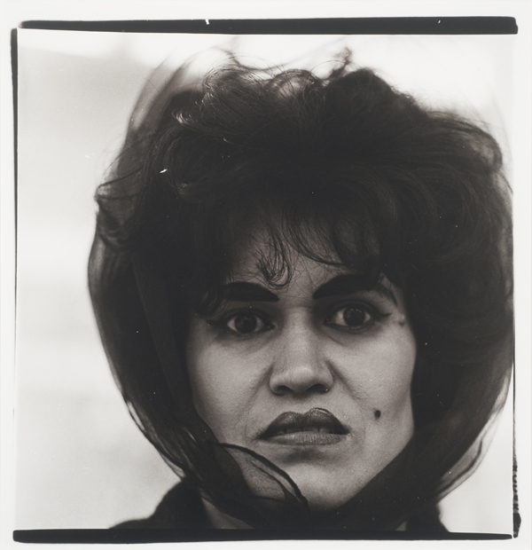 Head of a Puerto Rican Woman, Beautymark, NYC, 1965