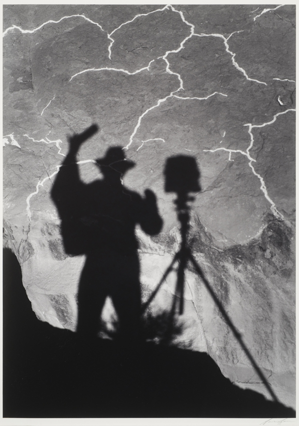 Self-Portrait, Monument Valley, Utah, 1958