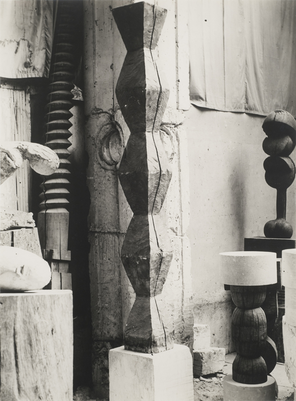 Interior of Brancusi Studio, ca. 1928