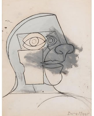Portrait de Picasso, circa 1936