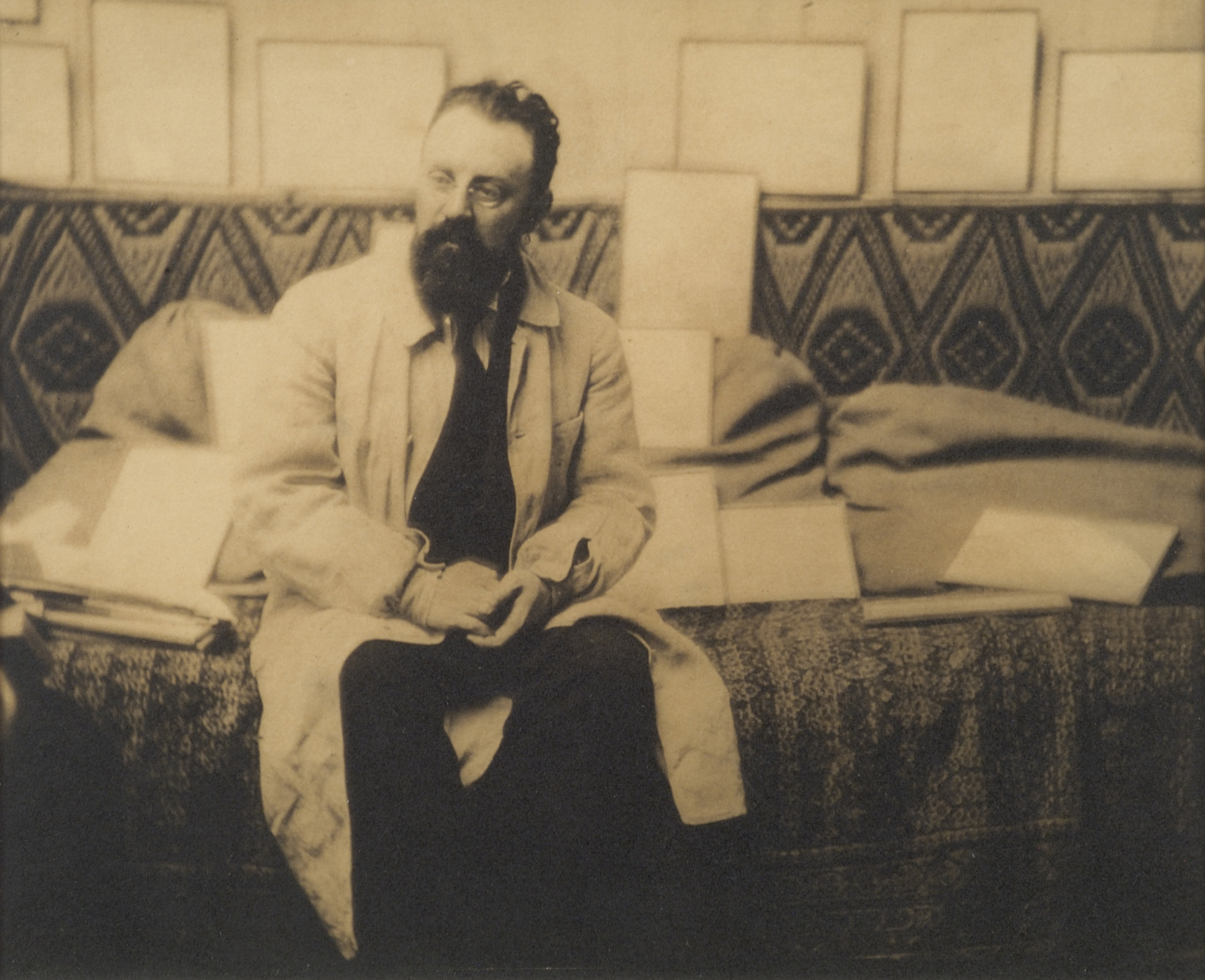 Henri Matisse Seated, 1913