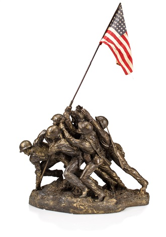 The Bronze Edition of the Arlington Marine Corps Memorial Maquette, 1948-1954