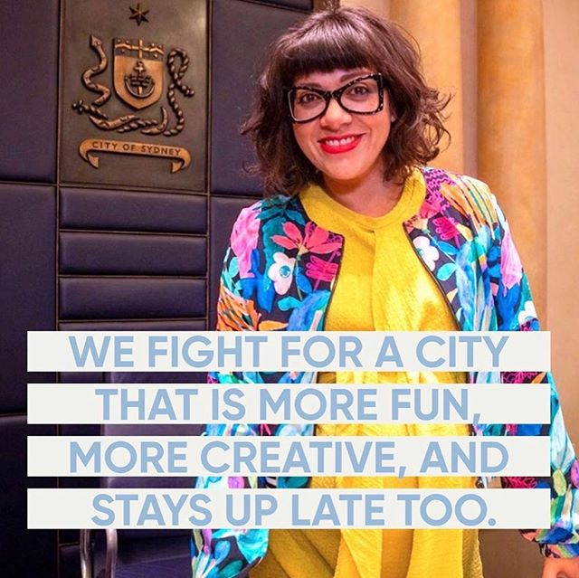 """Everything I've ever done has been about shifting Australia from the extraction, to the creative economy. I love creativity. But, the other thing that's really important is the caring economy."" This is @jessscullysydney. And she is our new Deputy Lord Mayor of Sydney! We. Are. Excited. Congratulations Jess 👏🏼👏🏼👏🏼 #teamjess #teamclover #franklyco"