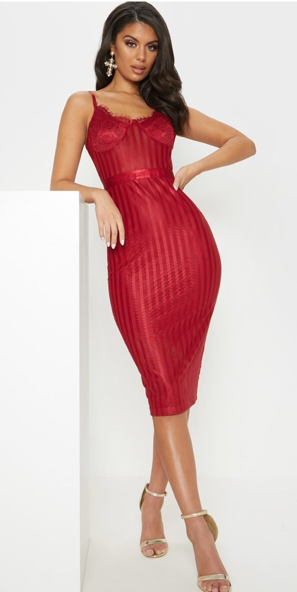Mesh Midi - Steal their heart in this one