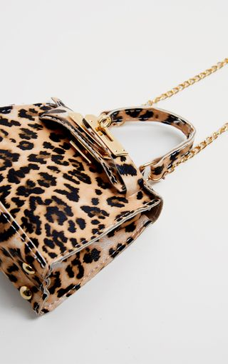 Leopard Print Micro Mini Bag