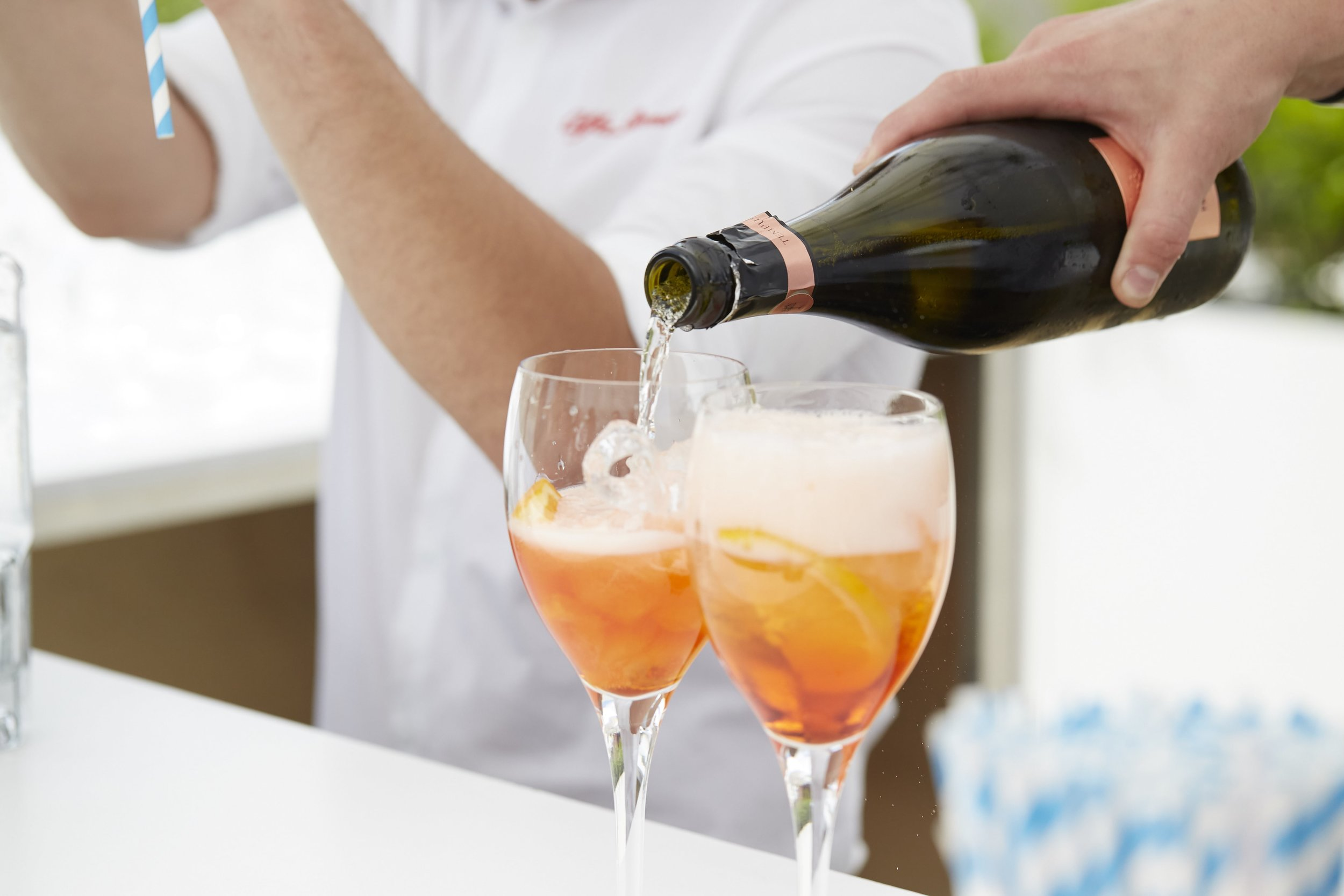 Aperol Spritz - One of our cocktails