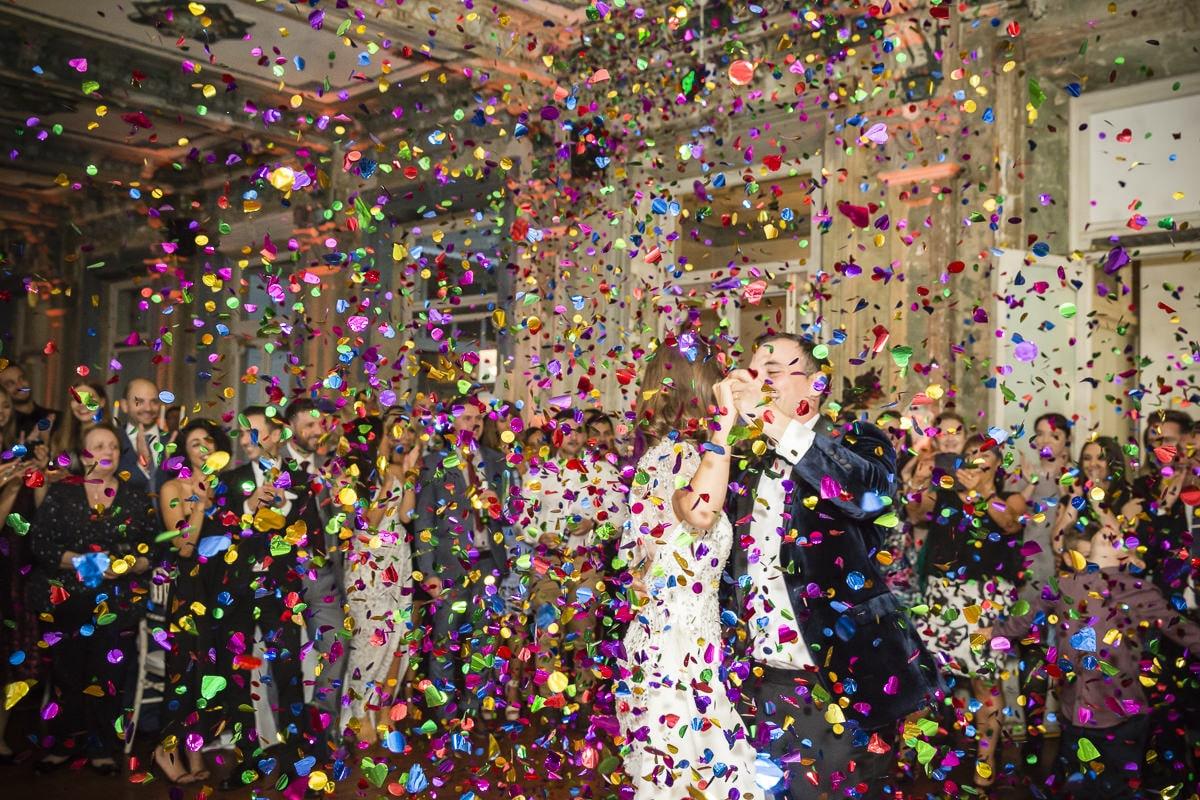 JESS + DAN - Wedding Venue: The George Ballroom