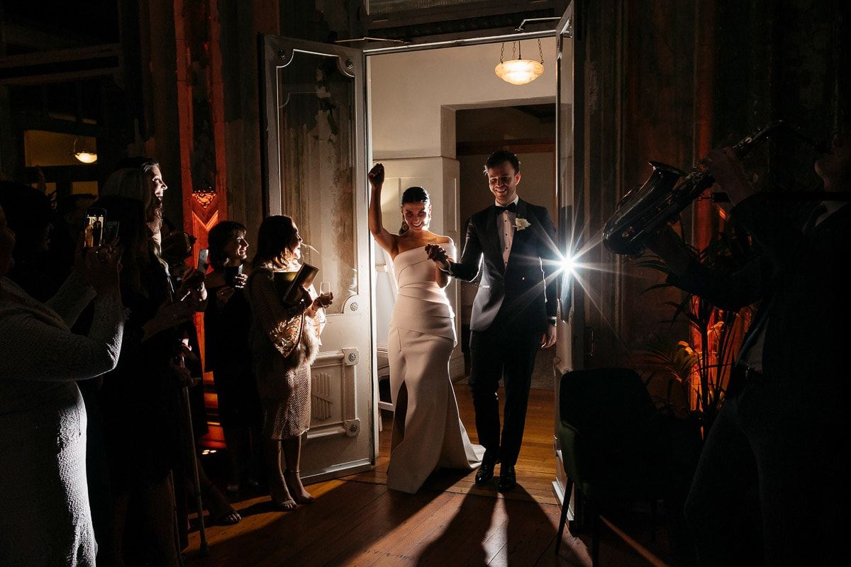 LAUREN + TOM - WEDDING VENUE: The George Ballroom