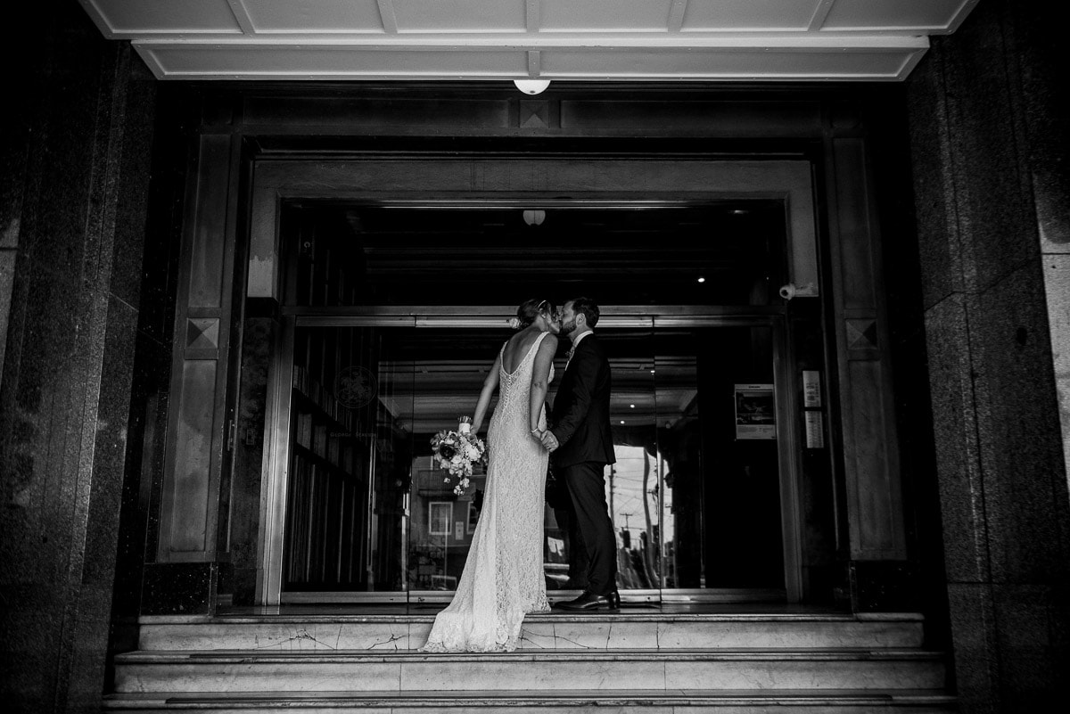 RACHEL + TIM - WEDDING VENUE: The George Ballroom