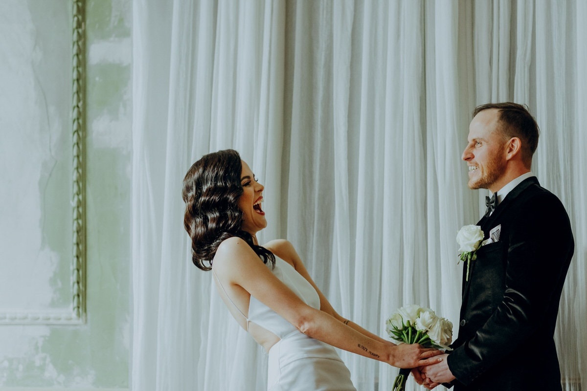 MICHELLE + CLINT - Wedding Venue: The George Ballroom