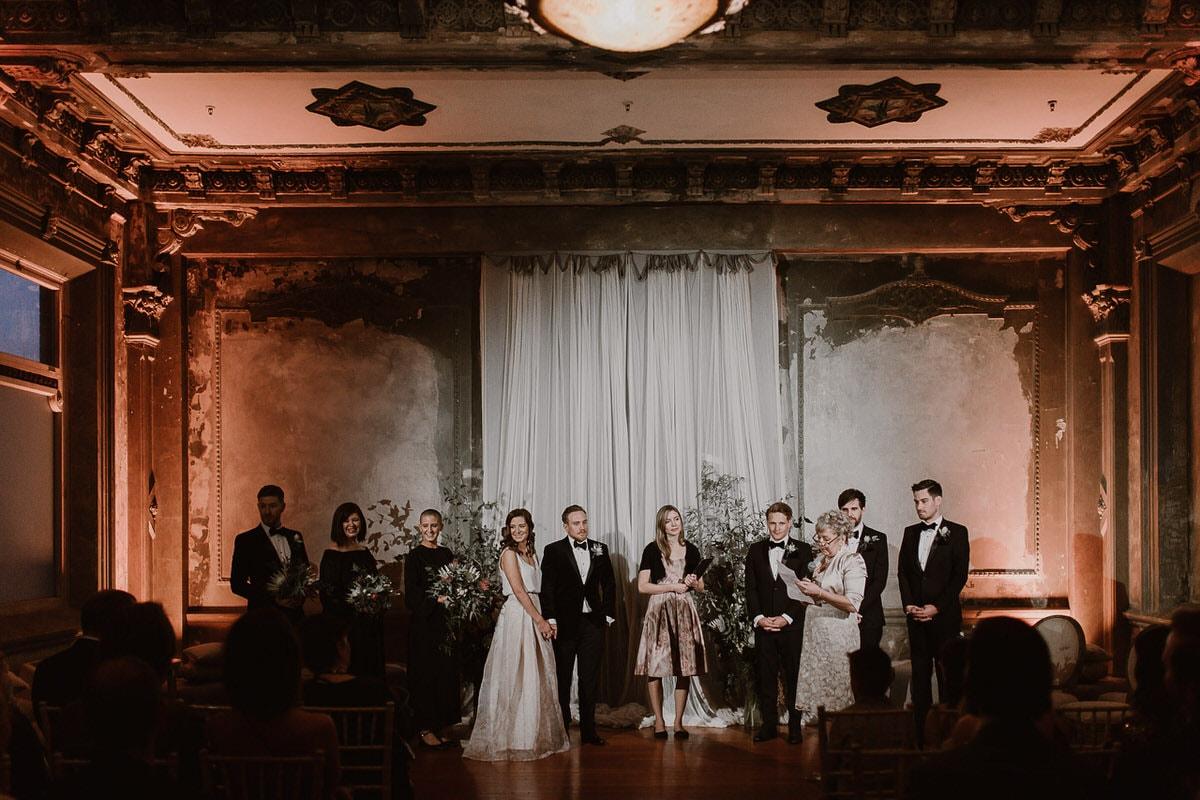 SIMONE + JORDAN - WEDDING VENUE: The George Ballroom