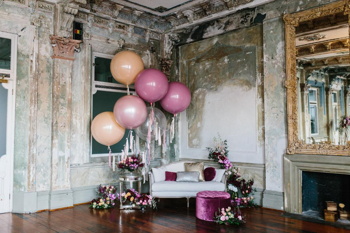 Copy of Wedding Venue The George Ballroom - Balloons
