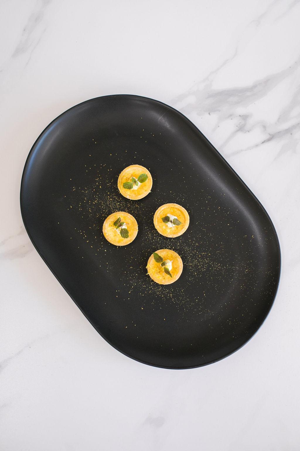 C - Manchego, truffle honey and buffalo ricotta tart with baby shiso (v)6.jpg