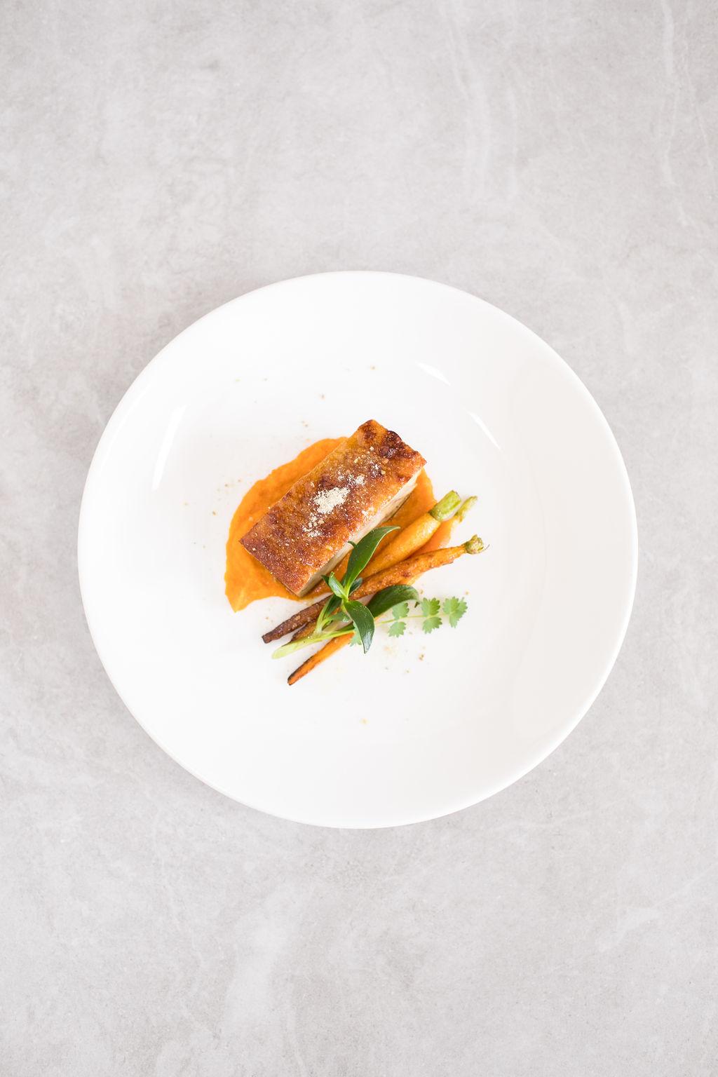 E-Fennel salt spiced pork belly, carrot and rosemary purée, winter purslane and  heirloom carrots (gf)(nf).3.jpg