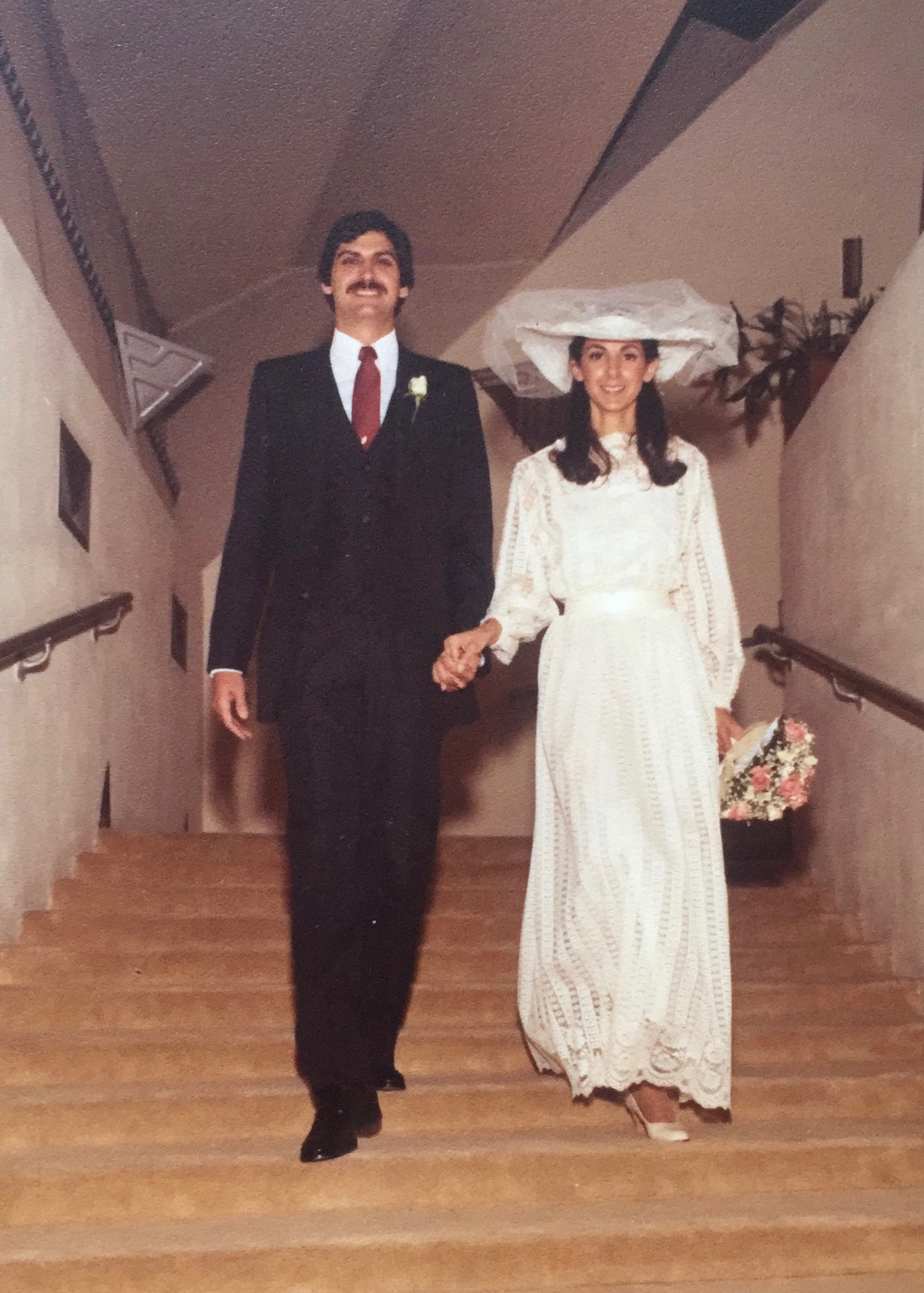 My parents on their wedding day | June 7, 1981
