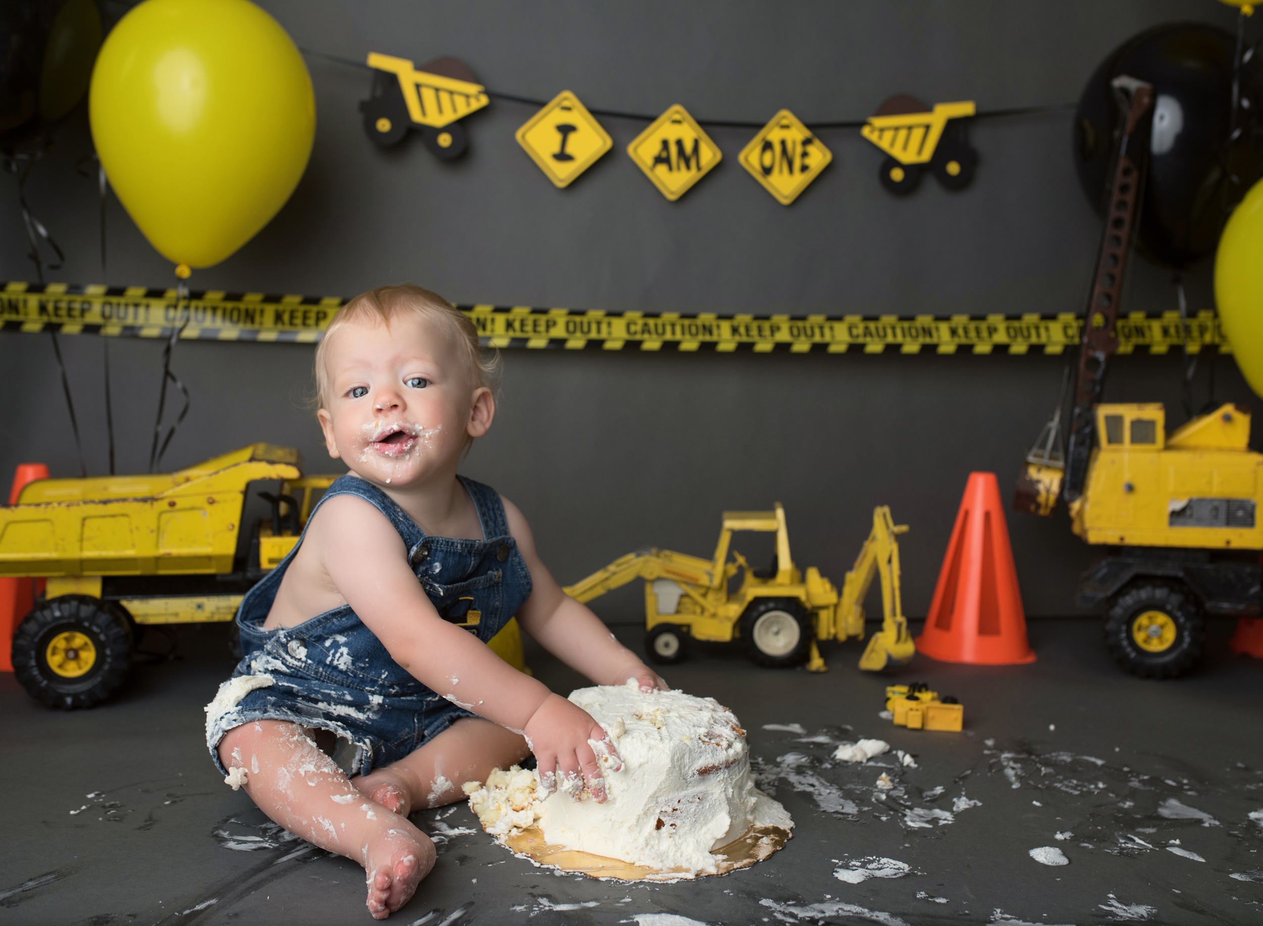 palm beach cake smash photographer